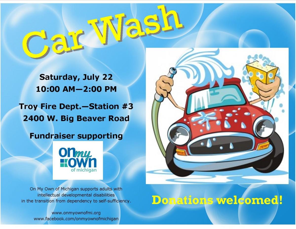 Car Wash Flier