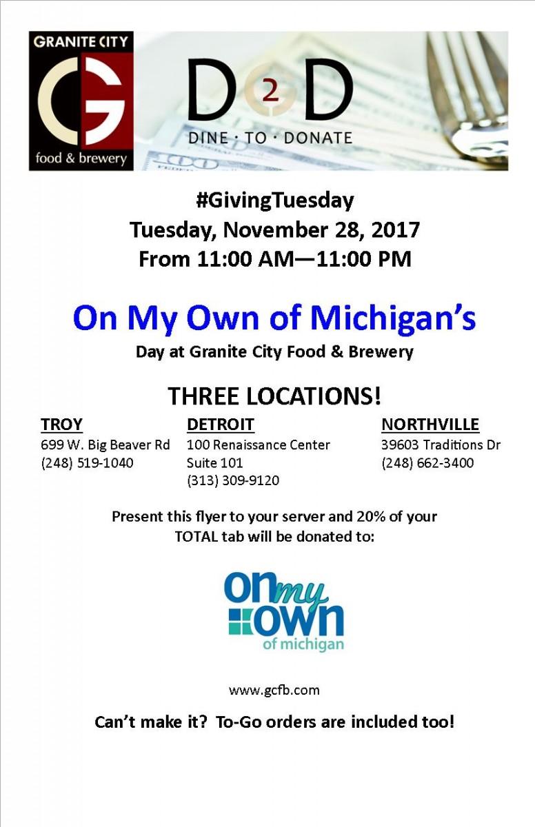 Dine 2 Donate November 28 2017 for email